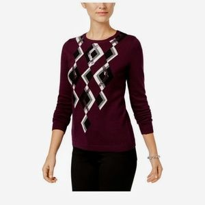 Charter Club Argyle Sweater